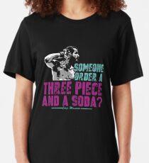 Jorge Masvidal - Drei Stücke Und Ein Soda Slim Fit T-Shirt