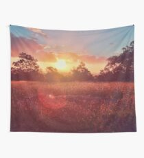 Park Sunset Wall Tapestry