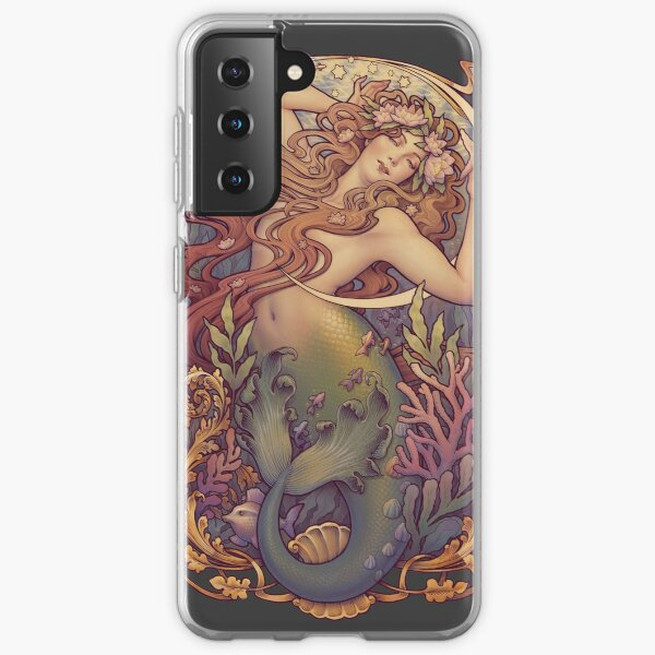 Andersen's Little Mermaid Samsung Galaxy Soft Case