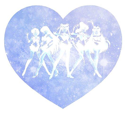 Sailor Moon - Galaxy Heart Blue by agShop