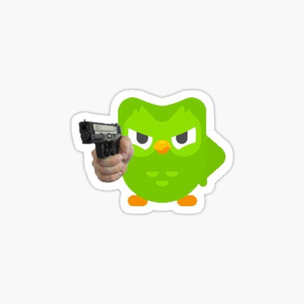 Duolingo is angry Sticker