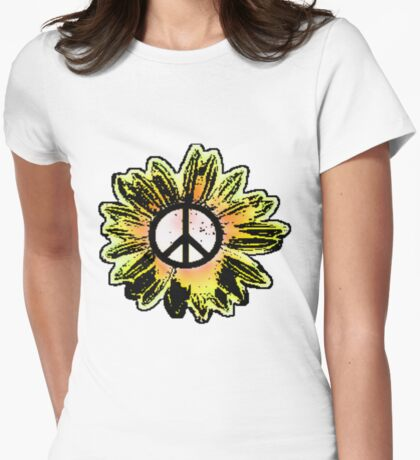 Sunflower Peace Sign 1 T-Shirt