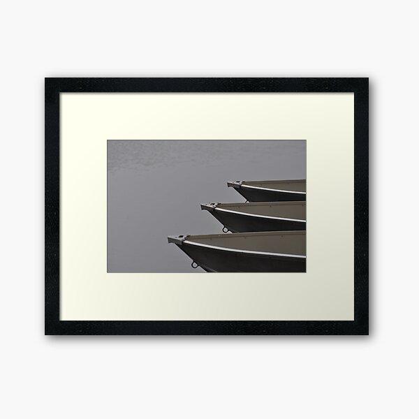 Boats at the Ready Framed Art Print