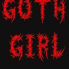 Goth Girl by AlexMac