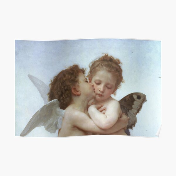 ANGEL ART PRINT Cupidon by William Adolphe Bouguereau