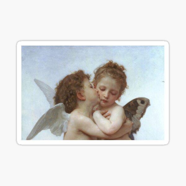 Lamour and Psyche Children – (William Adolphe Bouguereau) Sticker