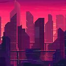 Magenta City by Lizziefij