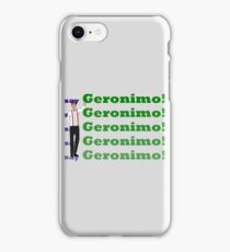 Doctor Says Geronimo! iPhone Case/Skin