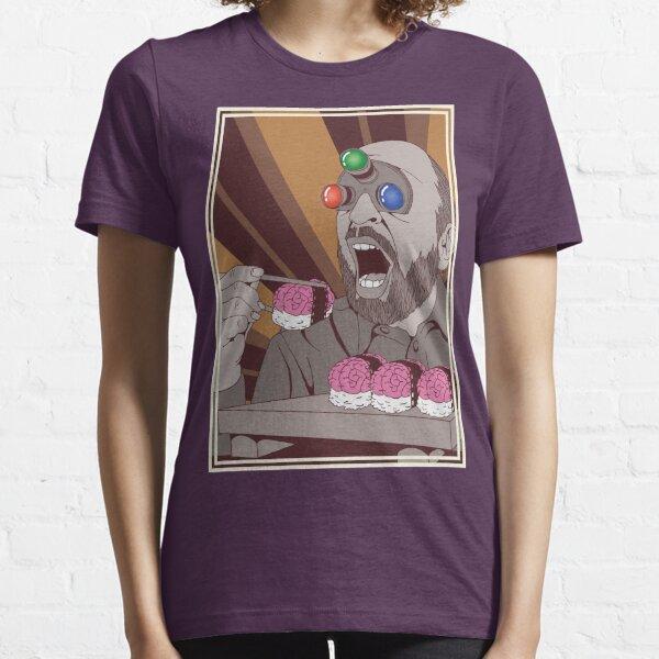 Brain Sushi bw Essential T-Shirt