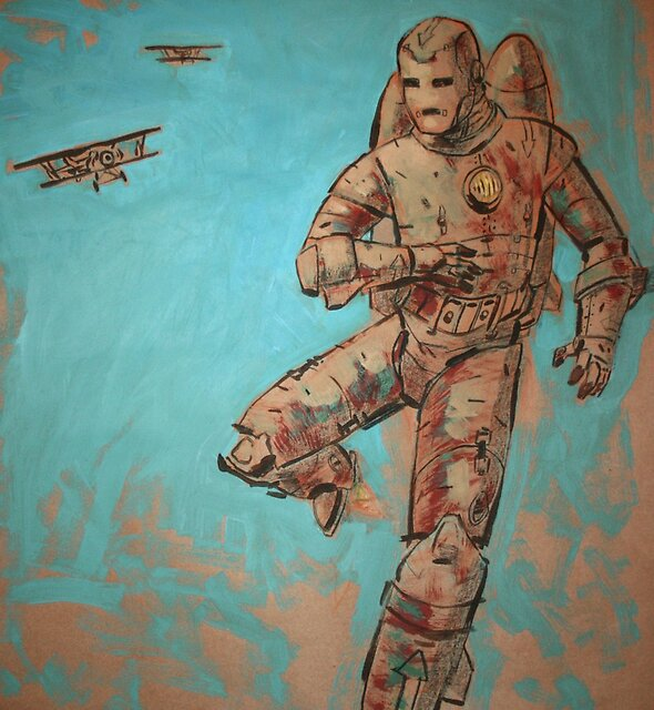 Iron Man : Dogfight by Coldtown