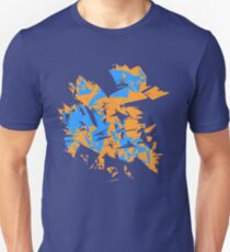Orange and blue explode T-Shirt