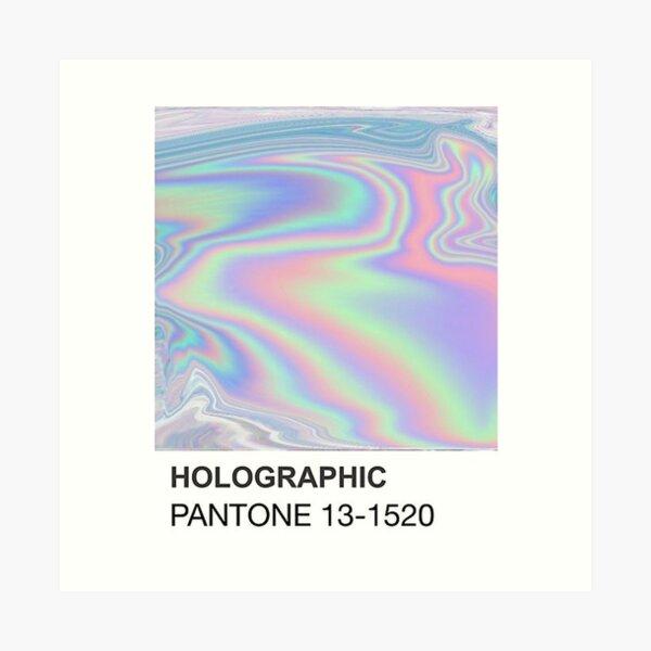 PANTONE / HOLOGRAPHIC Art Print