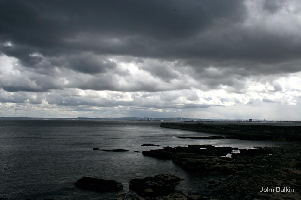 Hartlepool Storm Clouds by John Dalkin