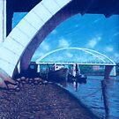 Towards the Granville Bridge - Brisbane by Cary McAulay