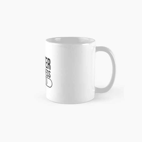 Gift for Master Student - Master in Progress - loading bar Classic Mug