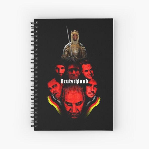 Deutschland Spiral Notebook
