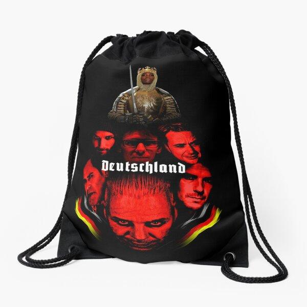 Deutschland Drawstring Bag