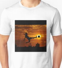 sports statue in city T-Shirt