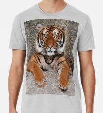 TIGER - GROSSKATZE - RAUBKATZE - WILDKATZE Premium T-Shirt
