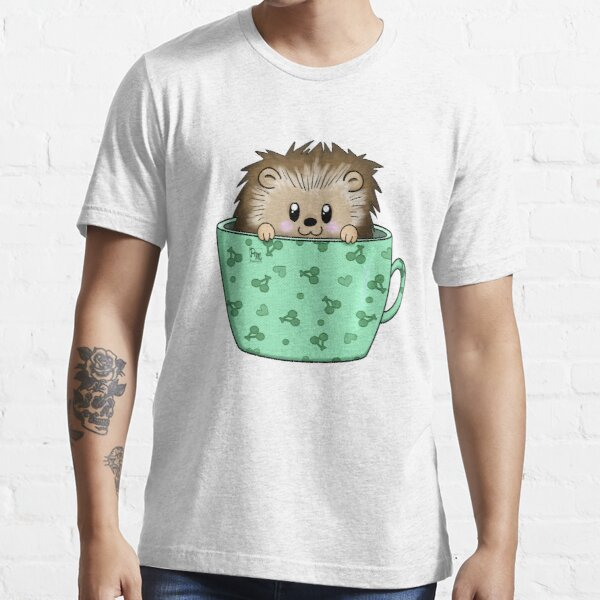 Hedgehog in a cup Essential T-Shirt