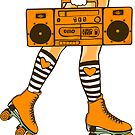 Boom Box (Orange) by chrisvig