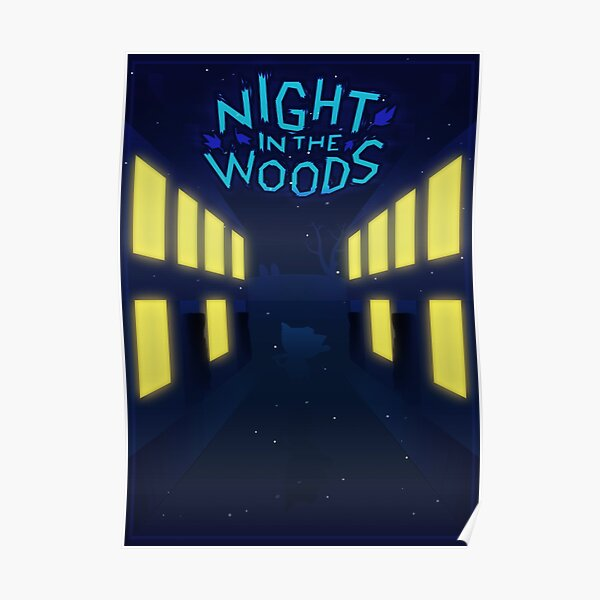 Night in the woods Street Poster