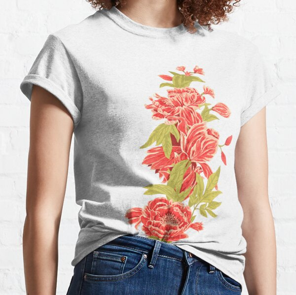 Bountiful - a floral piece - Yellow Classic T-Shirt