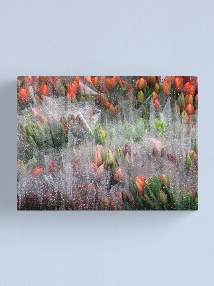 Alternate view of R a i n Canvas Print