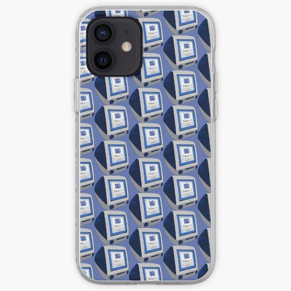 Classic Blue iMac G3 iPhone Soft Case