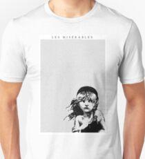Camiseta ajustada Les Miserables Musical Full Script letra en español