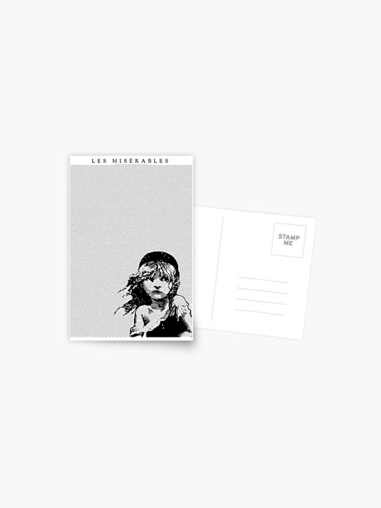 Carte Postale Paroles De Chanson Les Miserables Musical Full Script Par Deborahjulene Redbubble
