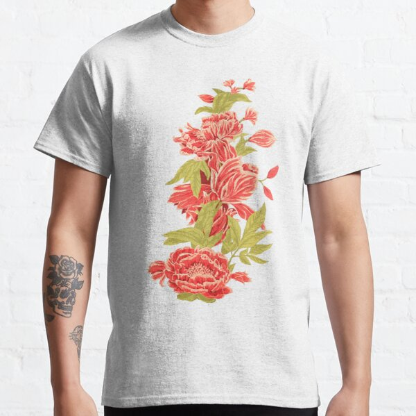 Bountiful - a floral piece - White Classic T-Shirt