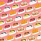«Estampado de sushi» de tinatamay