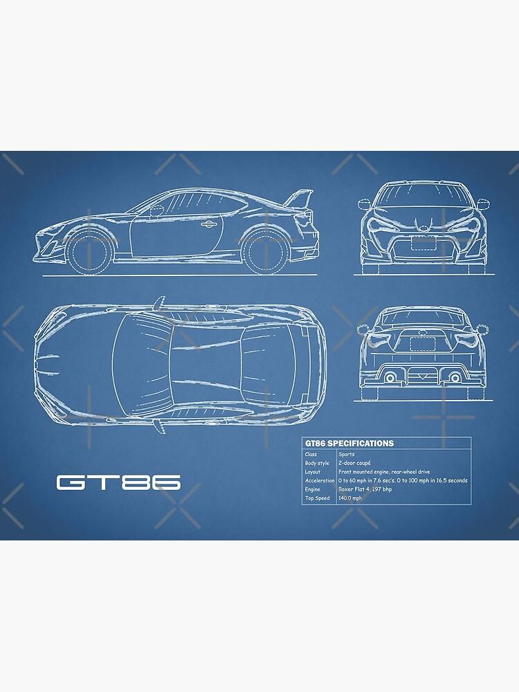 The GT86 Blueprint by rogue-design