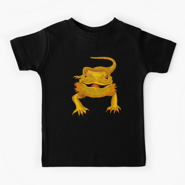 Leopard Geckowhisperer Short Sleeves Shirts Baby Boy Toddlers
