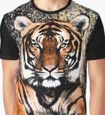 TIGER - GROSSKATZE - RAUBKATZE - WILDKATZE Grafik T-Shirt