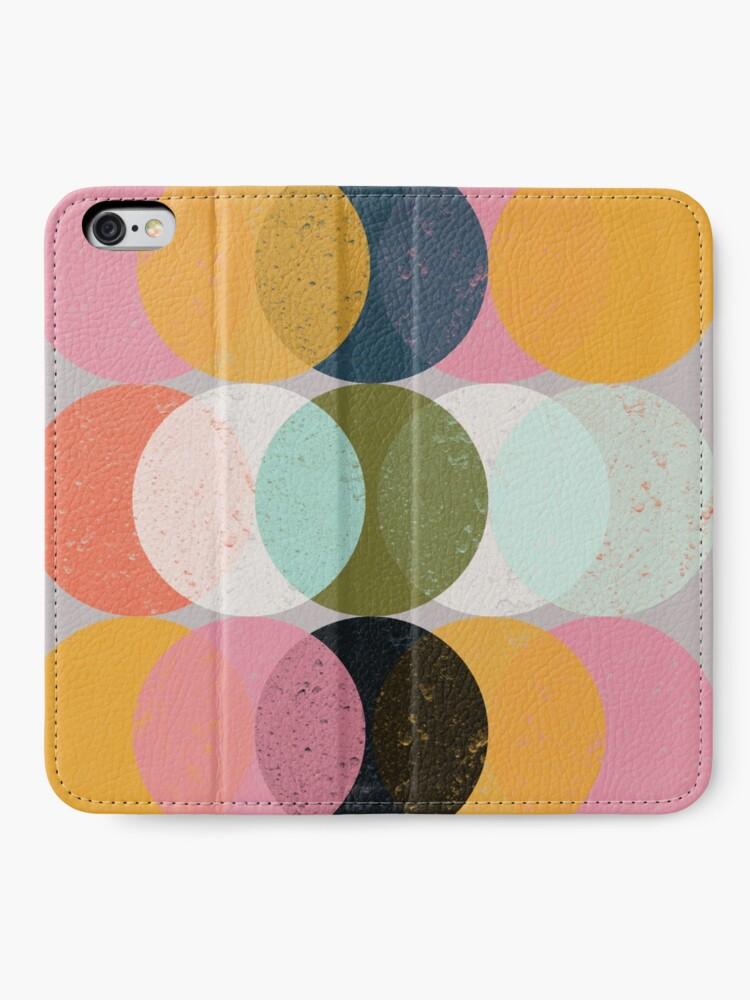 Alternate view of Moods & Moons iPhone Wallet
