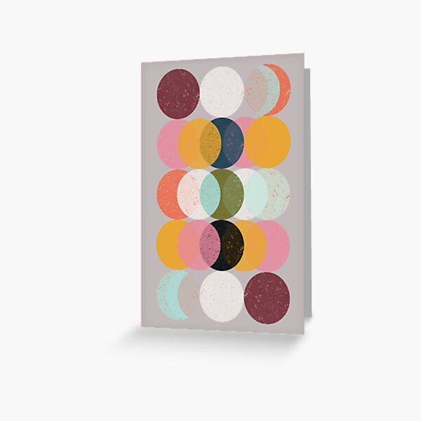Moods & Moons Greeting Card