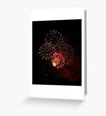 Gympie Fireworks Greeting Card
