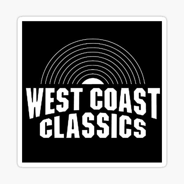 West Coast Classics GTA Grand Theft Auto radio station  Sticker