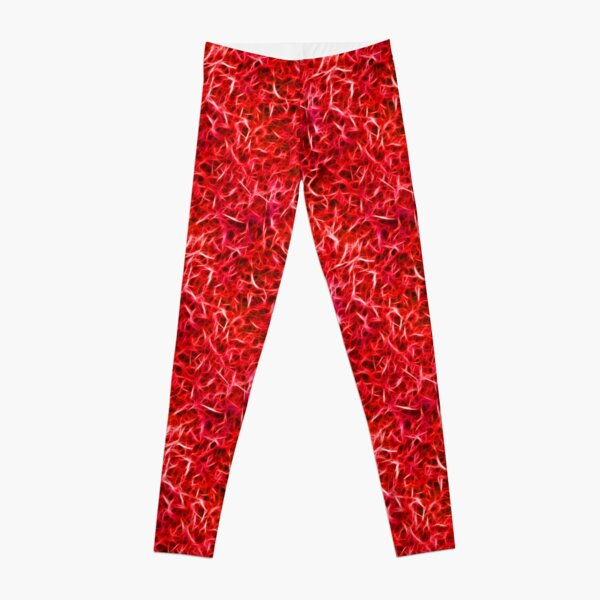 Brilliant Fibers RED Leggings