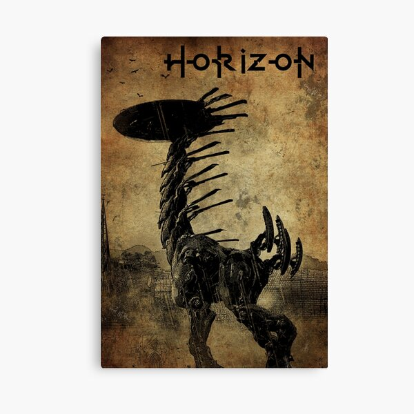 Horizon Zero Dawn - Tallneck Canvas Print