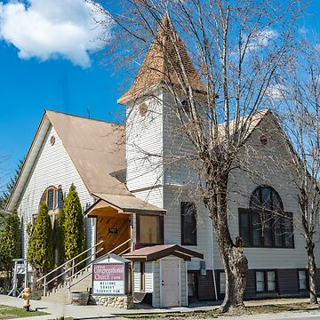First Congregational Church of Ione, Pend Oreille County, Washington, USA by mtbearded1