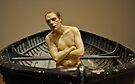 ron mueck: man in a boat by gary roberts