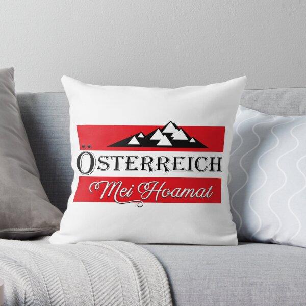 Oesterreich - Mei Hoamat  Dekokissen