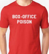 Box Office Poison - Weiß Slim Fit T-Shirt
