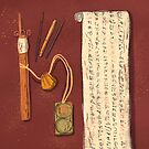 «El escriba» de tinatamay