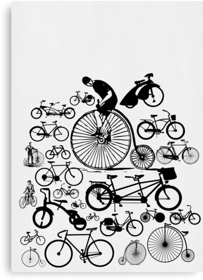 Bicycles by Ewan Arnolda
