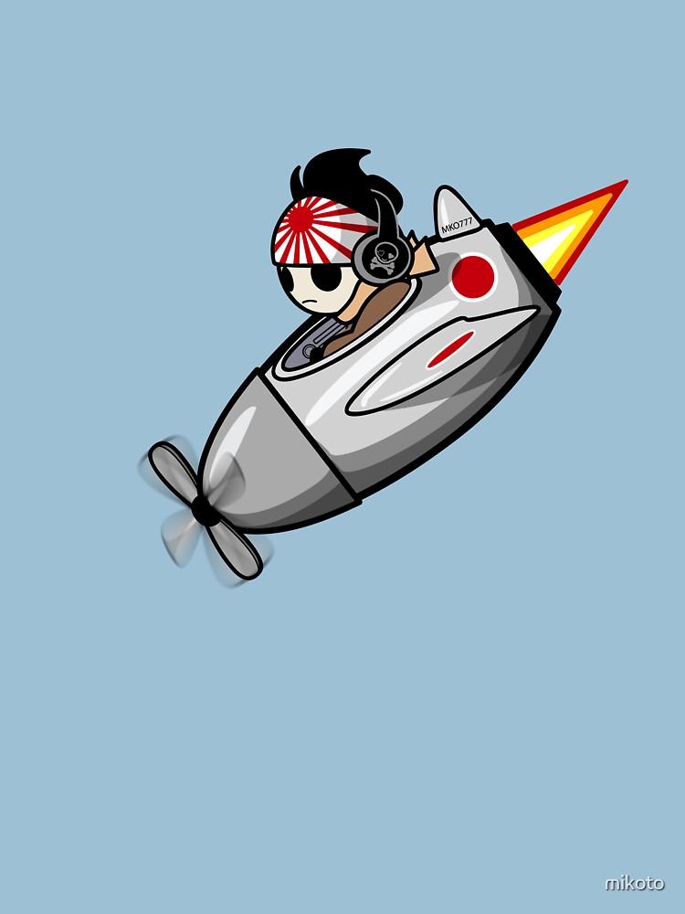 Piloto de Kamikaze de mikoto