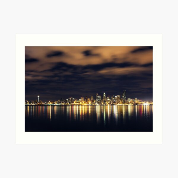 Seattle Art Print